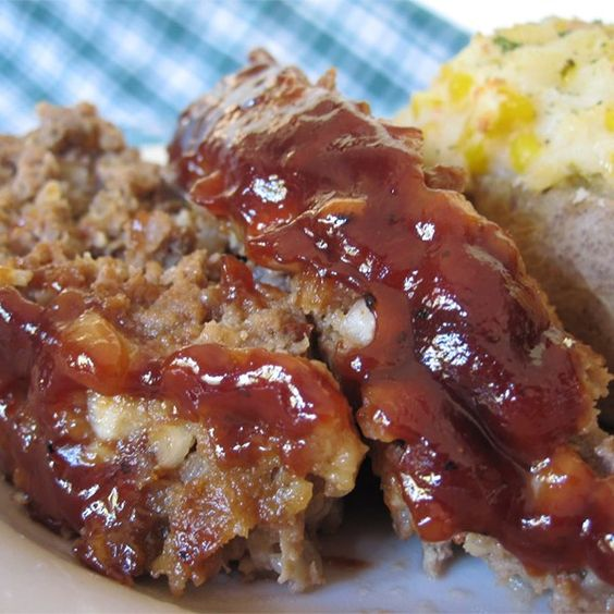 "Smokey Chipotle Meatloaf | ""Spicy, sweet and smokey flavor ..."
