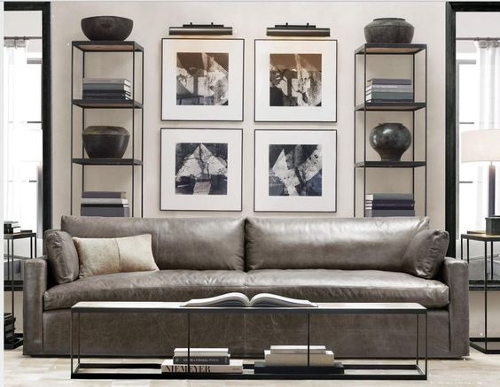 Bán sofa da thật tphcm, chọn gam màu hợp với mệnh Kim gia chủ