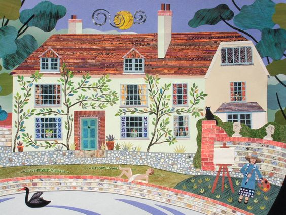 Amanda White - Contemporary Naive Art: Charleston Farmhouse again ...
