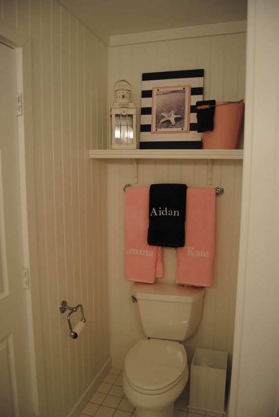 Nautical Unisex Kids 39 Bathroom Our Work Pinterest Toilets Towels And Over The