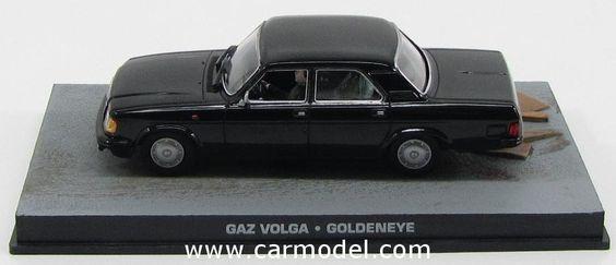 EDICOLA BONDCOL080 1/43 VOLGA GAZ 1992 - 007 JAMES BOND - GOLDENEYE