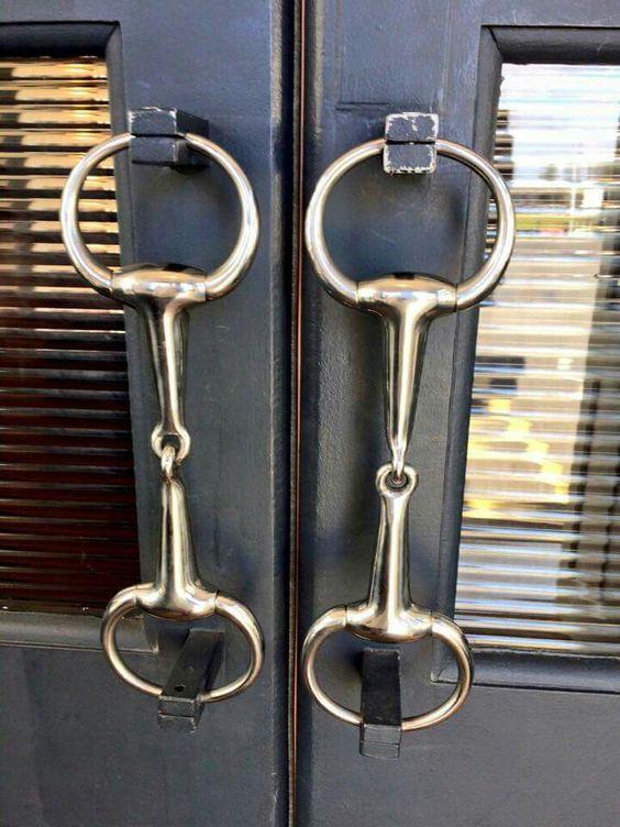 Bit door handles StyleMyRide.net #equestrian: