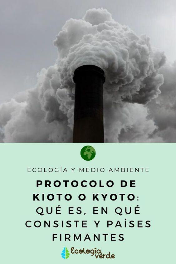 Aprende sobre qué es el protocolo de Kioto o Kyoto, en qué consiste y qué países son firmantes de este. #protocolodekioto #kioto #protocolodekyoto #kyoto #ecologiaymedioambiente #ecologia #medioambiente #EcologíaVerde #paisesdelprotocolodekioto #queeselprotocolodekioto #enqueconsisteelprotocolodekioto #naturaleza #contaminacion #planeta #cambioclimatico #gasesdeefectoinvernadero #efectoinvernadero
