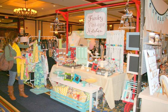 craft show fair boutique booth display
