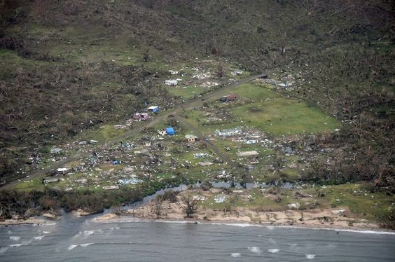 Winston ranks among strongest tropical cyclones on record to strike land anywhere in the world.