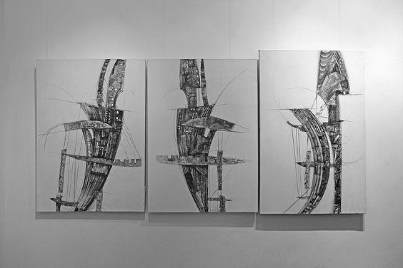 Графические работы художника Петра Торопова. Фото Жени Шведы