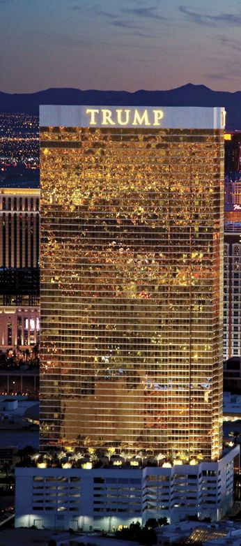Trump Hotel in Las Vegas NV. How many people are employed here? How many people does Hillary employee? You guessed it. A true American helping the American people with jobs vs. a women claiming she has a ticket-for what? job deployment, child neglect, welfare, joblessness, gun control, higher taxes for elite politicians, debt explosion-hyperinflation leaving us with no social security for American workers who have paid their fair share year after year. These jack asses of the world order has end