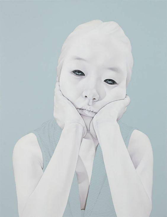 Melancholic Portraits by Sungsoo Kim   Inspiration Grid   Design Inspiration