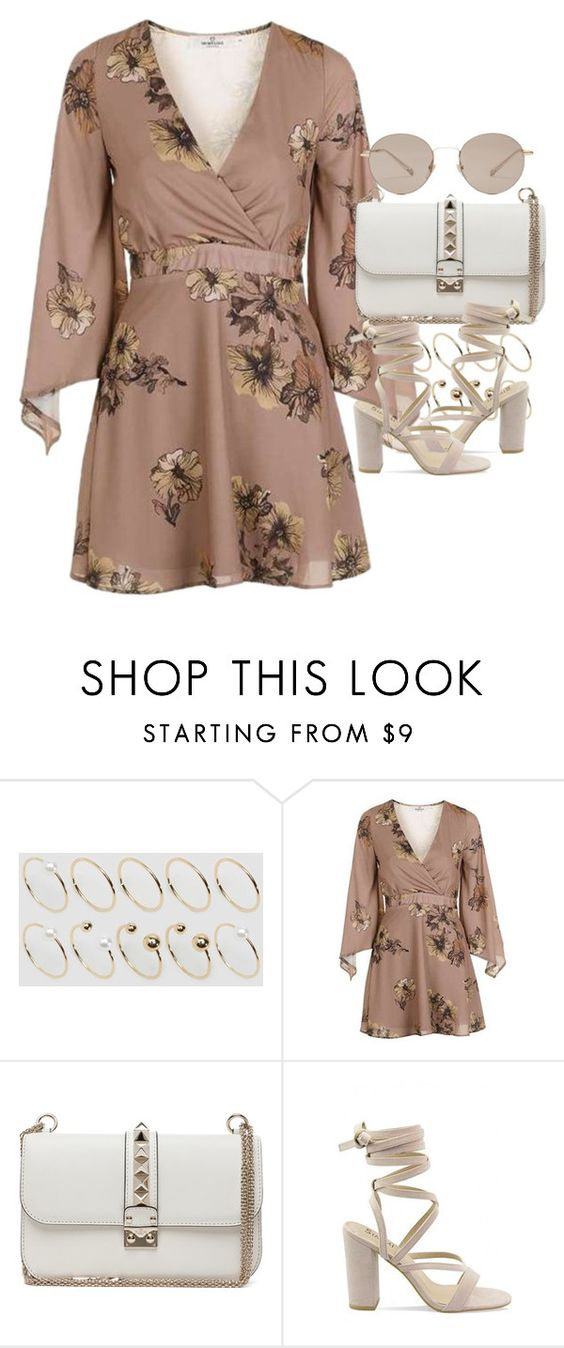 """Untitled #1991"" by sophiasstyle ❤ liked on Polyvore featuring ASOS Curve, Topshop, Valentino and Gucci"