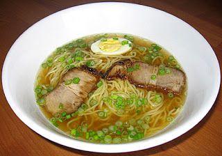 Shio Ramen Recipe  Japanese Food Recipes