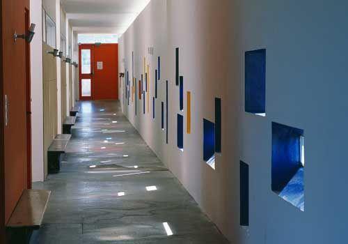 Firminy - école maternelle de l'unité d'habitation - Le Corbusier