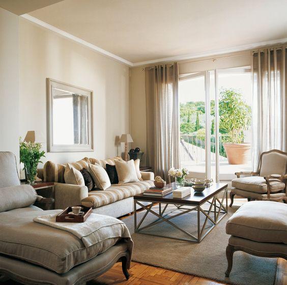 12 ideas para crear un sal n m s acogedor salones lindos interiores 3 - Como hacer un mueble de salon ...