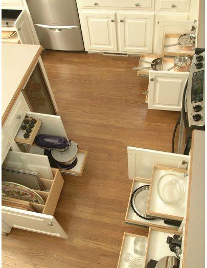 #kitchen #organize #shelves