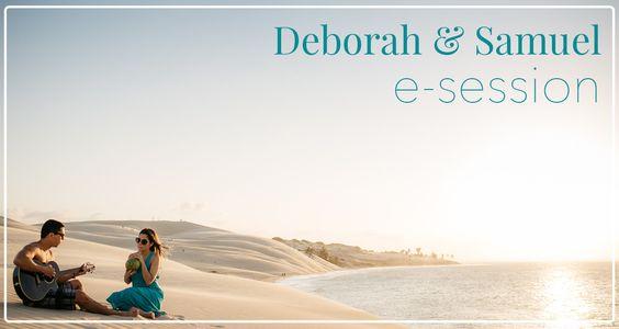 Veja hoje mesmo as fotos da e-session na Praia da Pedra Rachada em Paracuru com o casal Deborah e Samuel. Fotos lindas e inspiradoras para sua sessão.