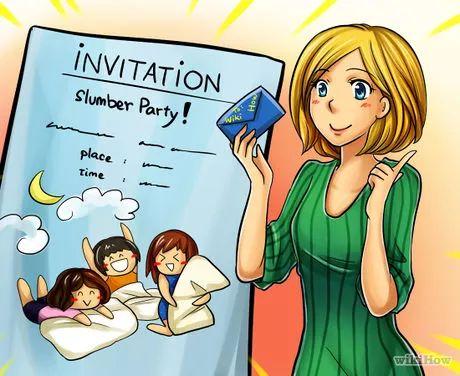 Imagem intitulada Host a Sleepover (Teen Girls) Step 1