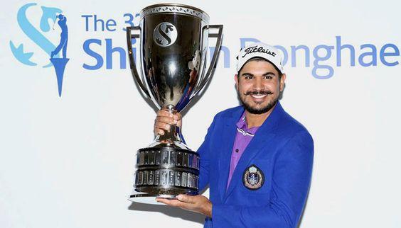 Ganganjeet Bhullar ends long wait wins sixth Asian Tour title - Zee News #757LiveIN