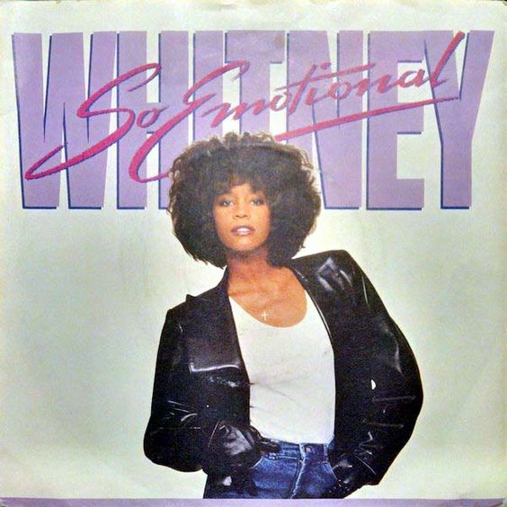 Whitney Houston – So Emotional (single cover art)
