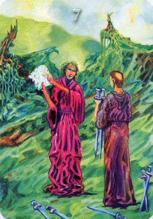 Templar Tarot ► Seven of Swords