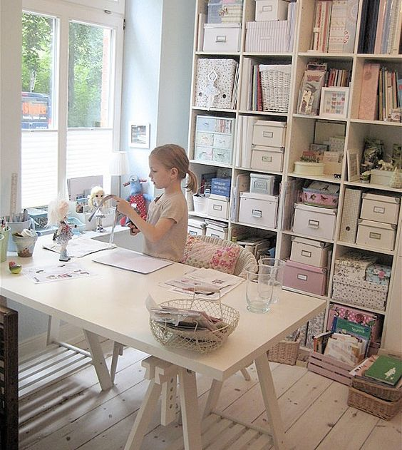 Home Office Craft Room Ideas: Ikea - Home Office