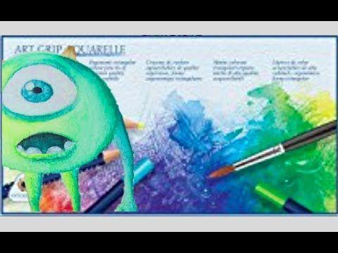Comment Utiliser Des Crayons Aquarellables Youtube Crayon De