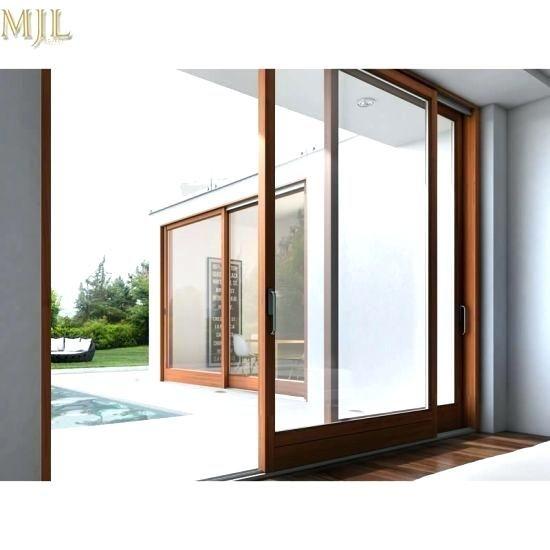 China 2018 New Designs Aluminum Wooden Sliding Door System Aluminium Wooden Sliding Doors Second Hand Wooden Sliding Door In 2020 Sliding Glass Door Sliding Doors Room