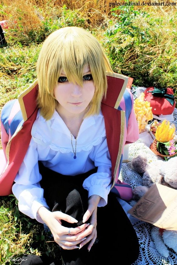 [Pale Cardinal] Howl's Moving Castle: Howl (Pale Cardinal cosplay) - Cosplayers' Cure