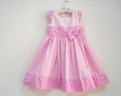 Vestido Verão- Rosa