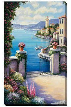 Kiracti Art Yagliboya Tablolar Ile Ilgili Gorsel Sonucu Landscape Art Murals Your Way Landscape Paintings