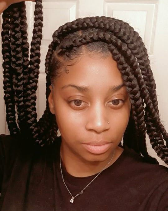 Knotless Chilombobraids In 2020 Hair Updos Tutorials Gorgeous Braids Curly Hair Updo Tutorial