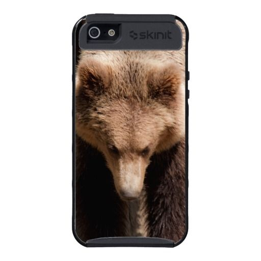 Brown bear iPhone 5 cases #bears #wild #cute available at http://www.zazzle.com/brown_bear_iphone_5_cases-256556953850298173?rf=238464442738264151