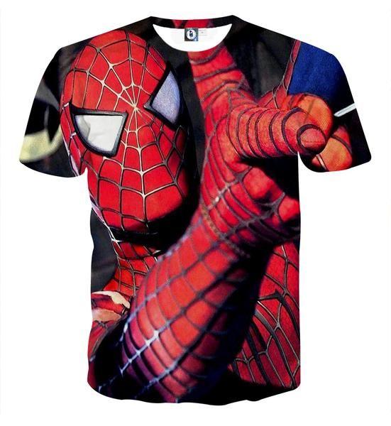 Spiderman Langarmshirt in 2 Farben