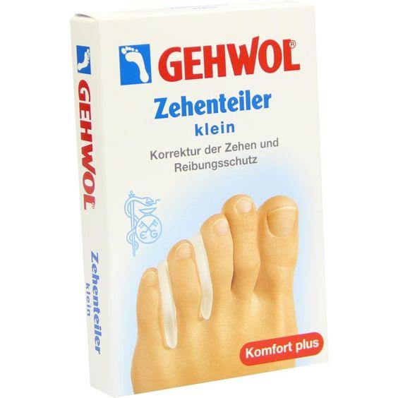 GEHWOL Polymer Gel Zehen Teiler klein:   Packungsinhalt: 3 St PZN: 01445632 Hersteller: Eduard Gerlach GmbH Preis: 3,26 EUR inkl. 19 %…