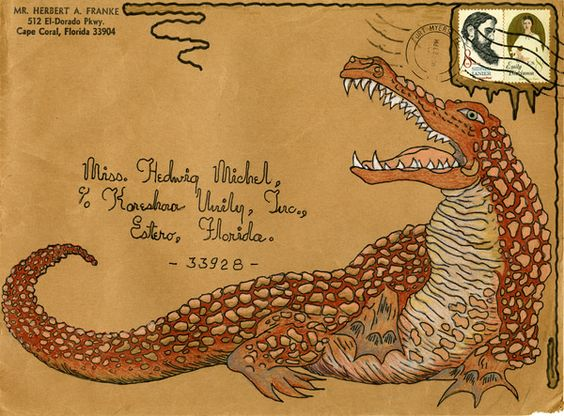 mail art: