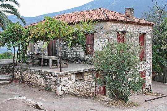 Ampliar la imagen: Granja antigua del Mediterraneo Italia