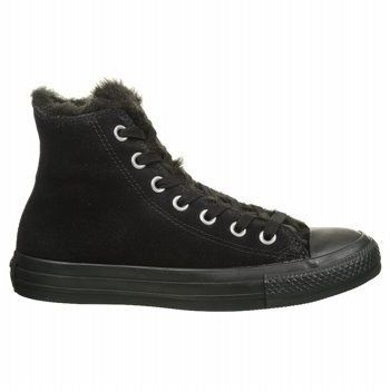 Women's Converse Chuck Taylor Suede & Fur High Top Sneaker ($24.97)