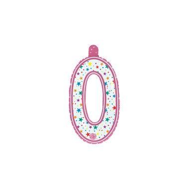 Opblaascijfer 0 roze  Je verjaardag jubileum of ander evenement wordt nog gezelliger met dit leuke opblaasbare cijfer! Roze opblaascijfer 0 voor aan de deur of het raam.  EUR 1.00  Meer informatie