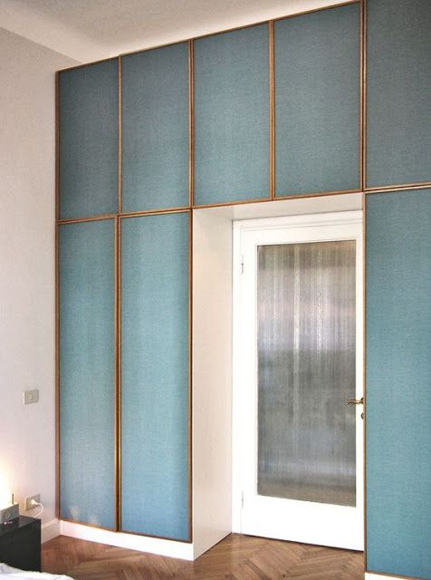 Wallpaper coverings for wardrobes   Norse White Design Blog