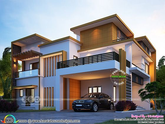 Modern Contemporary 4 Bedroom House 3380 Sq Ft In 2020 Duplex