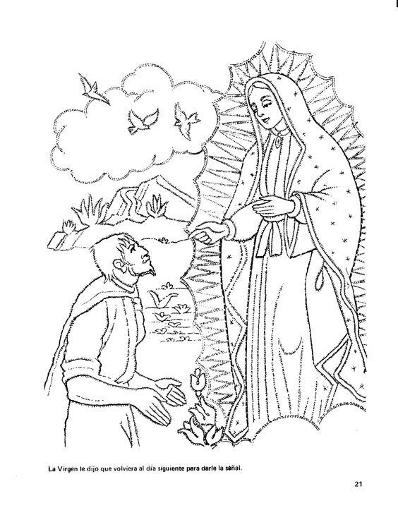 virgen coloring pages - photo#3