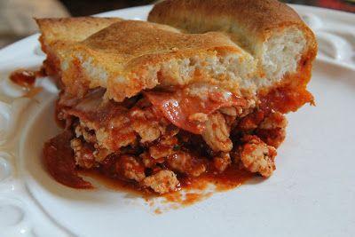 Dinner Tonight: Easy Pizza Casserole