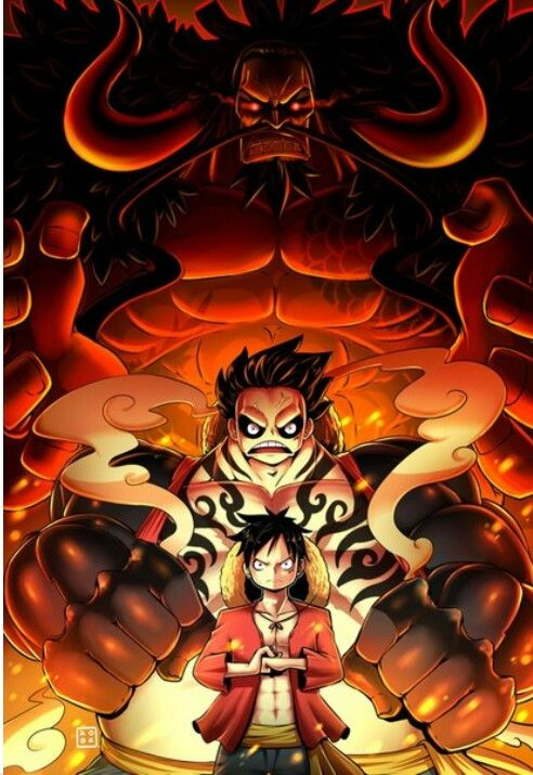 Monkey D Luffy Kaido One Piece Personagens De Anime Anime