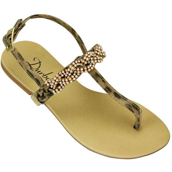 Rasteira Strass Lux R$ 74,99 no site www.shopshoes.com.br