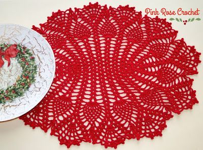 PINK ROSE CROCHET: Abacaxis