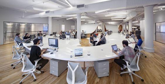 futuristic office ditches cubicles super. Futuristic Office Ditches Cubicles Super. Clive Wilkinson Creates 330-metre \\ Super F