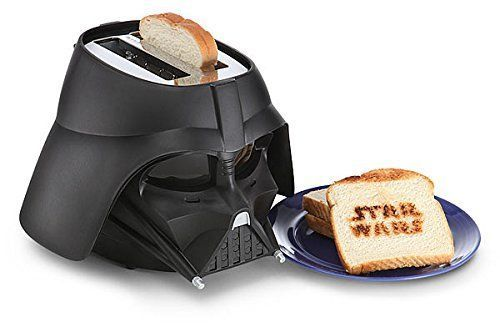 Official Licensed Disney's Star Wars Darth Vader Toaster 2-Slice Toaster 110