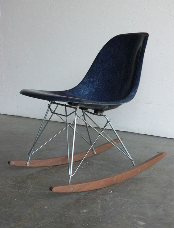 Eames rockers and eames rocking chair on pinterest - Eams rocking chair ...