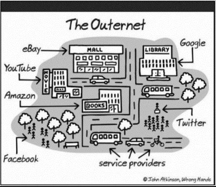 The real world - The Outernet.