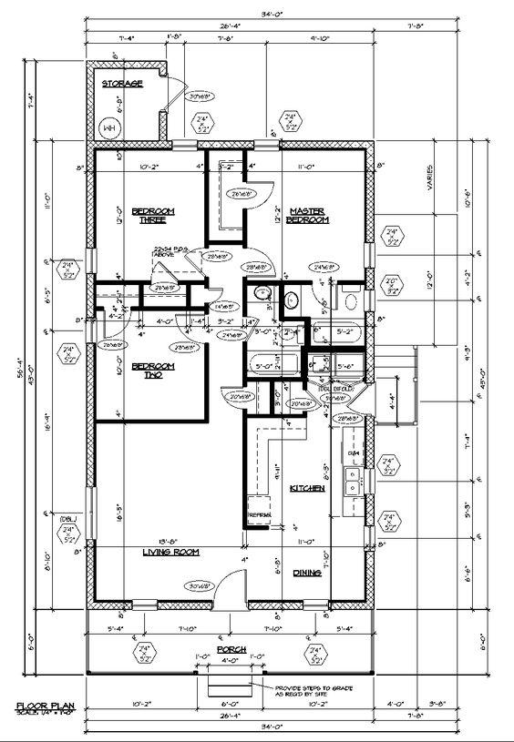 Exceptional Habitat House Plans