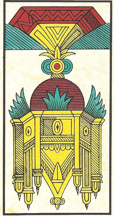 Arcano Menor Ás de Copas Invertido - Carta Tarot para 12-09-2014
