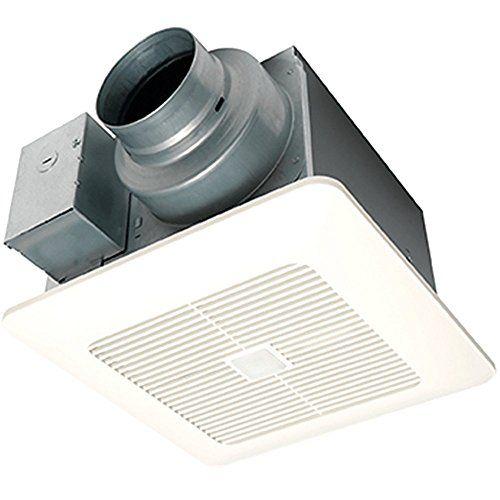 Panasonic Fv 0511vqc1 Whisper Sense Dc Fan With Dual Sensor Review Bathroom Fan Ventilation Fan Exhaust Fan